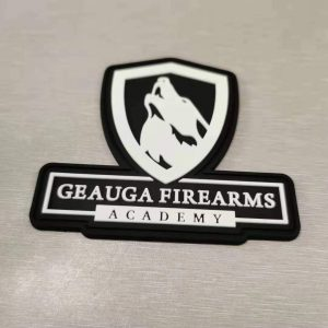 Geauga Firearms Academy PVC Glow-in-the-dark Patch